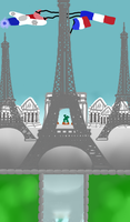 Paris in the Future (my opinion) by SansSkeletonHUN