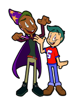 TF Humanized Buster and Deuce by Yo-Snap2