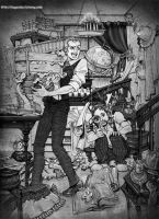 Holmes Watson spring cleaning by logosles