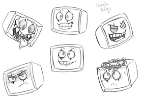 Omega Doodles by MagicAngy4427