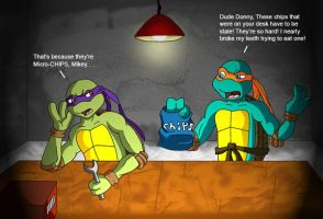 Stale Chips -TMNT Commission by Starimo