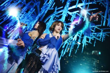 FINAL FANTASY X-2 - Yuna n Lenne 01 by vaxzone