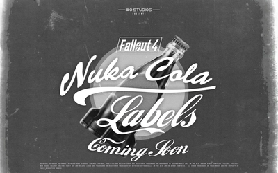 COMING SOON Printable Fallout 4 Nuka-Cola Labels by hi2tai