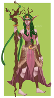 archdruid lucil wildgrove by ilvions