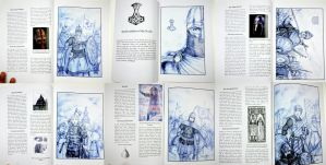 HWS Medieval Artbook - Printed Sample Pages by Gambargin