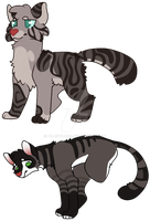Custom cat adopts 2 :OPEN: by PilusWorks