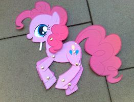 Paper Toy: Pinkie Pie by Trunksi