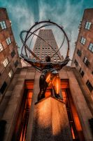 Rockefeller Center, NY by Stefan-Becker