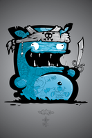 EMIL the PIRATE by KIWIE-FAT-MONSTER