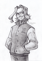Young Toshinori Yagi by Selebushka