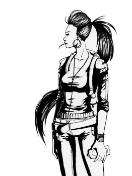 Haley inks by Red-Revolver
