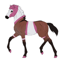 N3312 Padro Foal Design by casinuba
