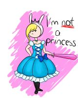 Fionna the princess by Lady-Storytime