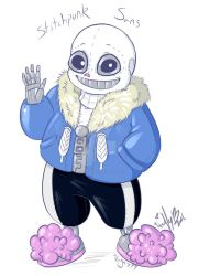 Stitchie Sans by The-real-Vega777