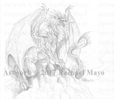 Embers of Pyre Fire Dragon by rachaelm5