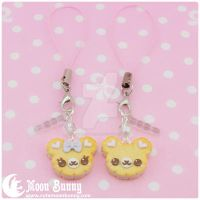 Cookie friends Phone Straps BFF SET by CuteMoonbunny
