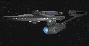 U.S.S. Enterprise NCC-1701 by kirinranger