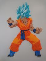 Dragon Ball #1 - Goku (Super Saiyan Blue) by MagicPearls