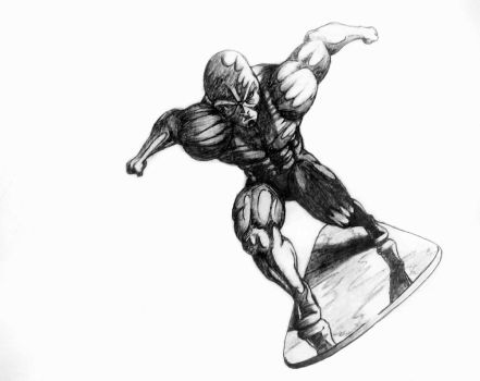 Silver Surfer by big7times
