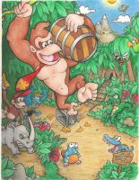 Donkey Kong Country by mattdog1000000