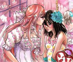 Candy kiss by pink-pink