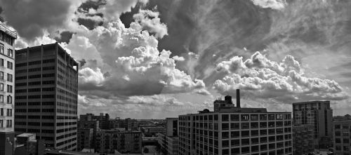 clouds pano203 print by delobbo