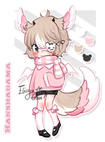 [ CLOSED ] Hanshadama Adopt #21 by Elissya-chan