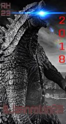 MY GODZILLA 2 TEASER POSTER by Redhood2343