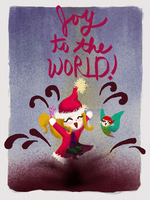 Rosie and Rockette: Joy to the WORLD! by CelestialPearl