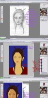 Photoshop painting tutorial 1 by Erulisse2