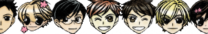 Ouran 50x50 Host Icons by SkyeWall