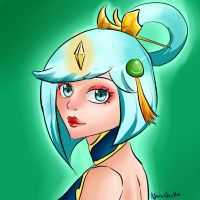 League Of Legends - Lunar empress Lux by NoraNecko