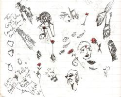 Vampire Theatrics Sketches by masayumesoto