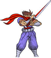 Strider Hiryu by PabloSSB