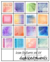 Icon textures - set 01 by darkicedphoenix
