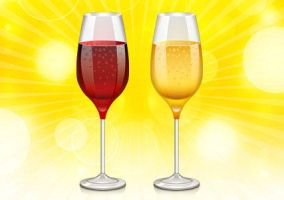 Wine Glass Icon (PSD) by softarea