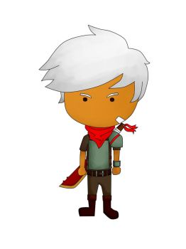 Bastion The Kid by IhsanT