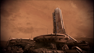 Mass Effect 3 Mars Dreamscene by droot1986