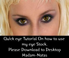 Quick Tut on how to use my eye by Madam-NatasStock