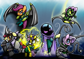 Commission - MLP Sinister Six by Rambopvp