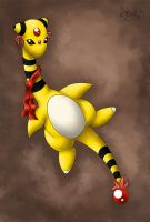 Ampharos from my party by Lylenn