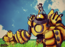 Blitzcrank and Debreks - Road to the League by Debreks