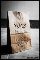 Dragon food Monster bag by motion-attack