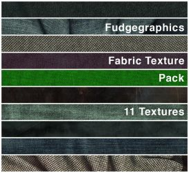 Fabric Textures Pack by fudgegraphics
