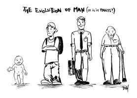 the evolution of man by HaTheVinh