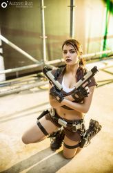 Lara Croft - Tomb Raider Legend by FuinurCroft