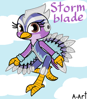 Stormblade by HandyxRussell10