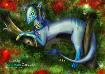 Zephyr the Pranseer (Free Request) by LacrimareObscura