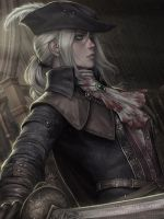 Lady Maria - Bloodborne by Sciamano240