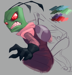 The Invader - WIP by LeFreaks
